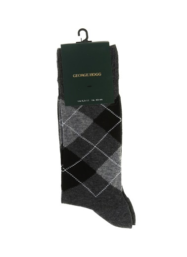 George Hogg Çorap Gri